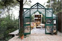 Gang and the Wool Floral Studio Greenhouse Barcelona ; Gardenista