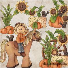 Horse Clip Art, Dog Clip Art, Illustrations, Graphic Illustration, Chicken Clip Art, Pirate Clip Art, Autumn Doodles, Fall Scarecrows, Pony Rides