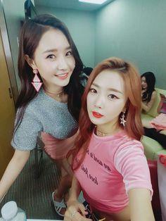 Dal Shabet Woohee & Subin