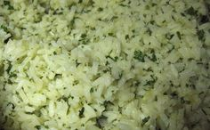 Cilantro-Lime Rice.