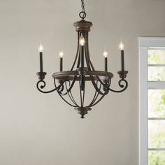 Nanteuil empire chandelier in 2019 home decor люстра Foyer Chandelier, Empire Chandelier, Kitchen Chandelier, Bedroom Chandeliers, Chandelier Ideas, Lantern Chandelier, Dining Lighting, Farmhouse Lighting, Modern Farmhouse