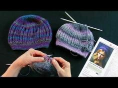 Learn to Knit the Faux Brioche Beret with Red Heart Yarns.