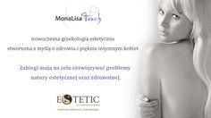 MonaLisa Touch -INTYMNY KOMFORT W ZASIĘGU LASERA-  Kobiety zaczynają coraz odważniej mówić o swoich problemach w tej kwestii. Brak zadowolenia z wyglądu miejsc intymnych ma ogromny wpływ na komfort życia kobiety. Problemy tej natury, skutecznie utrudniają relacje intymne, a co za tym idzie obniżają samoocenę kobiety.  Więcej informacji na stronie: http://www.estetic.pl http://www.ginekologia-estetyczna-szczecin.pl/