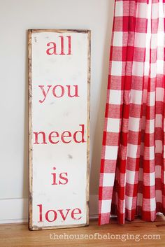 24 Ideas For Creating Signs On Valentine S Day Diy Is Fun