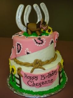Horse Cake By Sarsi on CakeCentral.com
