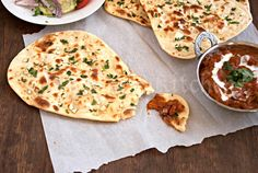 Naan With an Easy Sourdough Starter (Without Yeast) - I love making naan, but I REALLY need help. It's never quite ... right. This tutorial makes me happy.