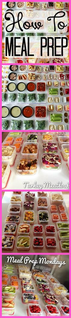 CLICK this pin to find out all about how exactly I meal prep for 2 and it lasts an ENTIRE week with less than 2 hours of prep! REPIN if you want to see more :)