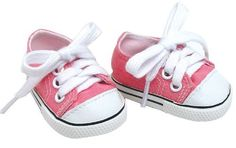 18 Inch Pink Doll Shoes Made by Sophia's fit for American Girl Dolls, Pink Doll Sneakers Sophia's http://www.amazon.com/dp/B00LC404LI/ref=cm_sw_r_pi_dp_DTwewb0MSCQB7