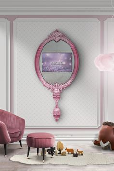 Girl bedroom design | To bring fantasy to girls' room you need amazing furniture! Check out Circu Magical Furniture and get inspired: CIRCU.NET