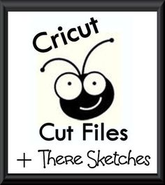 Cricut Inspired Scrapbook Layouts: Sketch Cricut CUT Files