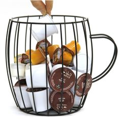 Wire Coffee Pod Holder and Organizer