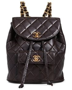 babbaff2e26f What Goes Around Comes Around Chanel Classic Backpack
