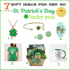 Lucky You! 7 Practical Gifts for Her on St. Patrick's Day: http://www.bellenza.com/party-ideas/fabulous-finds-parties/7-lucky-st-patricks-day-gift-ideas-practical  #stpatricksday #stpatricksdaygifts