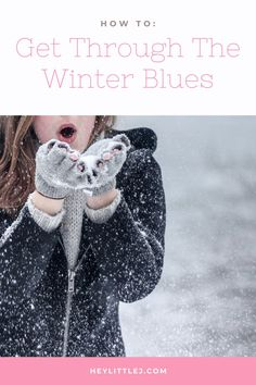 S.A.D. or seasonal affective disorder, or the winter blues, affect many of us in the winter. Here are 10 ways to fight the winter blues!