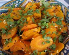 I love this carrots and cumin dish so much. We usually serve it with barbecued Moroccan chicken, but it's fantastic with fish, pork and roast lamb, too. Spanish Kitchen, Spanish Food, Roast Lamb, Pork Roast, Moroccan Vegetables, Moroccan Chicken, Moroccan Style, Vegetable Recipes, Cooking Recipes