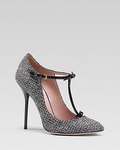 Gucci Beverly Herringbone Pump | Bloomingdale's