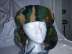 Recycled Blue Jean Winter Hat by jeanoligy on Etsy, $10.95