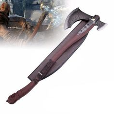 high quality steelThe Leviathan Axe is a two-handed war axe that is Kratos main offensive weapon in God of War.Super Detailed Axe that is really heavy. I have no doubt that you will love this one :)Material: Steel Length: +/- +/- 7 kg Fantasy Armor, Fantasy Weapons, Tactical Swords, Anime Demon Boy, Zombie Apocalypse Survival, Concept Weapons, Thors Hammer, Thundercats, God Of War