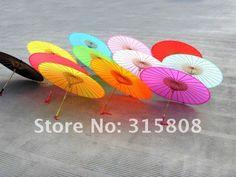 Parasol/parapluie ROSES de tissu grand pour la faveur UM06 de mariage  8$/1