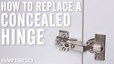 See our experts replace a common cabinet hinge from start to finish.  Functional storage space can make a world of difference.