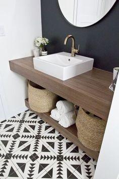 p/kleines-badezimmer-stauraum-badezimmer-gastebad-modernes-badezimmer - The world's most private search engine Laundry In Bathroom, Basement Bathroom, White Bathroom, Bathroom Modern, Bathroom Taps, Minimalist Bathroom, Small Bathrooms, Bathroom Fixtures, Bathroom Storage