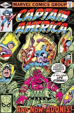 Captain America #243 - The Lazarus Conspiracy!