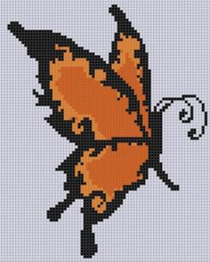 Butterfly 3 Cross Stitch Pattern  | Craftsy