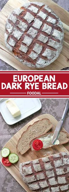The aroma of rye bread fresh from the oven is simply marvelous. And although it�s not too complicated, my family and friends are amazed that I made it on my own. And you can easily make it from scratch, as well! My recipe for dark rye bread creates a beau