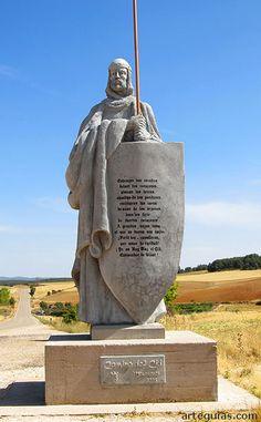 Estatua de El Cid en Mecerreyes, Burgos