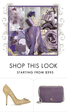 """""""Old Times"""" by saraihe ❤ liked on Polyvore featuring Dolce&Gabbana, Tory Burch and Irene Neuwirth"""