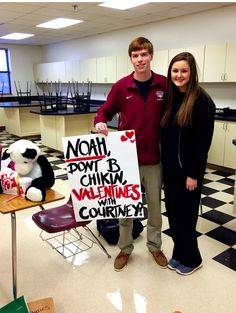 Who doesn't love some Chick-fil-A . . . and being asked to the dance?!