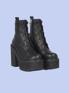 Moto Boots, Combat Boots, Ankle Boots, Lace Up Boots, Leather Boots, Gothic Shoes, Thing 1, Boot Brands, Unif