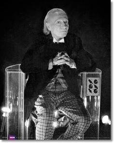 1st Doctor Costume...here's the deal we're collaborating with a couple people and putting together a female Doctor Who calendar, (sexy girls dressed as the Doctors 1-12) So I'm pinning pictures of every Doctor in their costumes, so we know what to work with. 1st William Hartnell--the one that got it started.