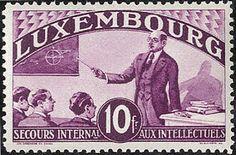 Luxembourg, Michel 266 /80 - Intellektuelle 1935 tadellos **. Mi. 1.500,- ?.  Lot condition **  Dealer Götz Int. Auktionshaus  Auction Starting Price: 350.00 EUR