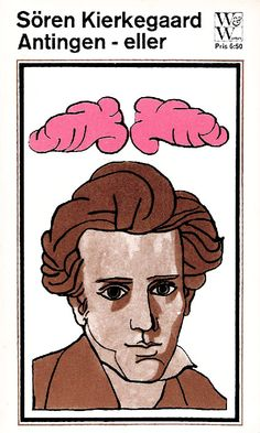 Sören Kierkegaard - Antingen-eller | by Book Cover Lover