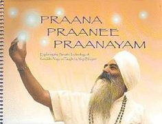 THE absolute best book on Kundalini Yoga breath techniques! Praana Praanee Praanayam by Yogi Bhajan $29.95 #kundaliniyoga #pranayama http://www.yogatech.com/Yogi_Bhajan/Praana_Praanee_Praanayam#