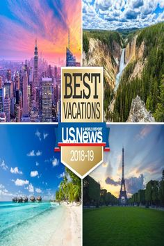 You'll find everything from dreamy once-in-a-lifetime destinations to scenic national parks on this list.When it comes to choosing a vacation, what appeals to one group of travelers might not be of … Top Places To Travel, Best Places To Vacation, Great Vacations, Best Places To Live, Vacation Destinations, Vacation Trips, Cool Places To Visit, Great Places, Vacation Travel