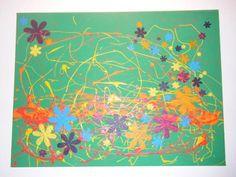 Dieses tolle Blumenbild hat uns Chiara gebastelt. Hier gibt's Tipps und Tricks dazu! Painting, Art, Flower Paintings, Gift Cards, Tips And Tricks, Amazing, Craft, Painting Art, Paintings