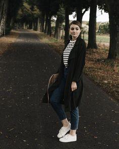 Casual Outfit: Mom Jeans, Mango Trenchcoat & Streifen Shirt | LITTLE EMMA by Tamara // www.little-emma.de // Instagram: little.emma