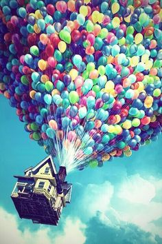 Image via We Heart It https://weheartit.com/entry/163870735/via/31032155 #colorful #cute #home #inlove #sky #up #baloney
