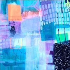 Nærbillede af et af mine malerier. Se den fulde version på mettesmaleri.dk #mettesmaleri #Padgram