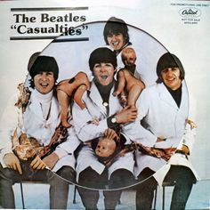 Beatles - Casualties  Mid-1980s bootleg picture disc of studio outtakes. #records #vinyl #albums #picturedisc