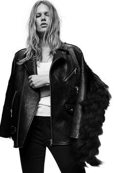 Alexander Wang moto leather jacket