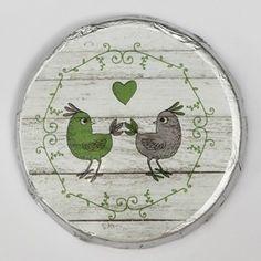 Schokotaler Turteltäubchen Plates, Tableware, Guest Gifts, Marriage Anniversary, Licence Plates, Dishes, Dinnerware, Griddles, Tablewares