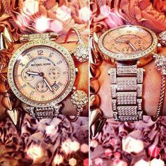Michael Kors Watch. Just because why not have a lot of diamonds!