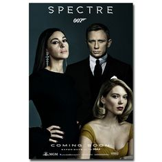 James Bond 24   007 Spectre 2015 Movie Art Silk Fabric Poster Print 13x20 24x36 Wall Pictures For Living Room Decor 015-in Painting & Calligraphy from Home & Garden on Aliexpress.com | Alibaba Group