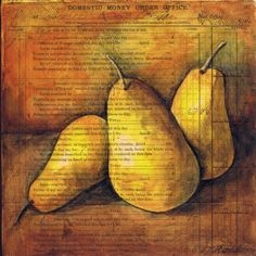 Pam Carriker here to share a love of drawing pears~ I love to draw pears. You can't make a mistake! The organic shape is so free and lovely. Sketchbook Challenge, Matisse Art, Envelope Art, Organic Shapes, Art Of Living, Drawing Techniques, Art And Architecture, Art Blog, Mixed Media Art