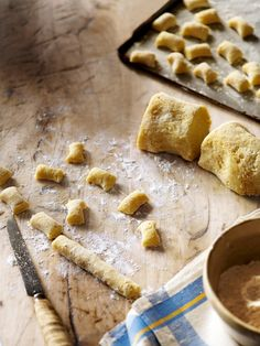 Our homemade gnocchi recipe is impressive, with a texture far superior to even the best quality store-bought stuff. Try making it for your next dinner party. Surimi Recipes, Endive Recipes, Gnocchi Recipes, Pasta Recipes, Cooking Recipes, Bulk Cooking, Radish Recipes, Meal Recipes, Vegetarian Recipes