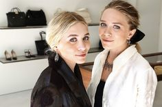 Ashley and Mary-Kate Olsen. Photo via: Kirk McKoy / LA Times.