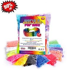 It is also essential that when you play with your children making use of these Rainbow loom elastic band.